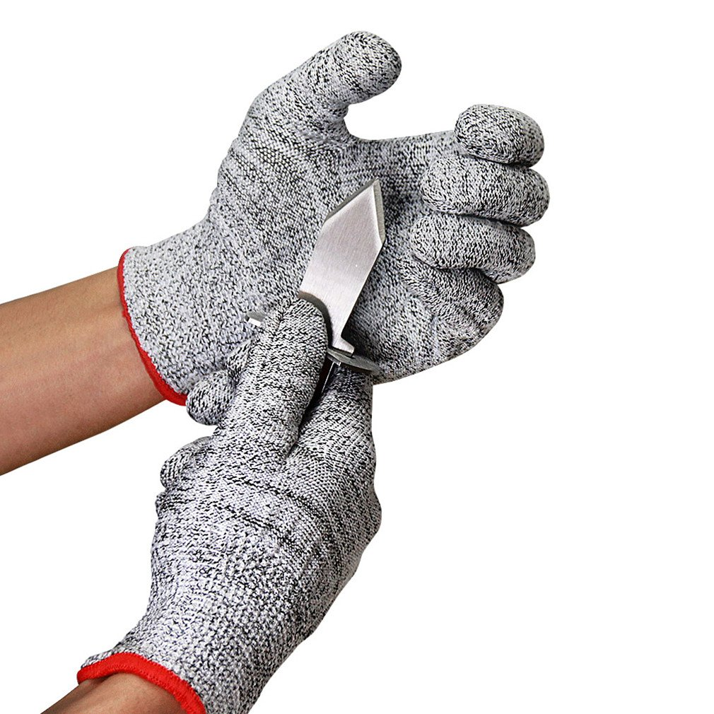 Caloics Oyster Set : Oyster Knife and Cut Resistant Gloves (Size: S)