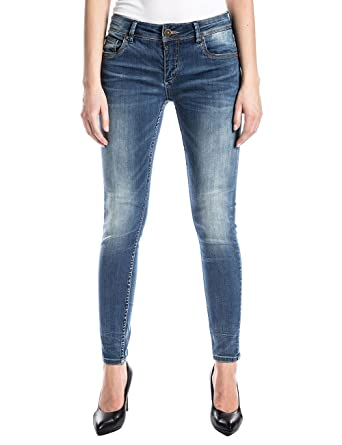 Womens Enyatz 2085 Light Grey Wash Jeans Timezone HpKYAl2