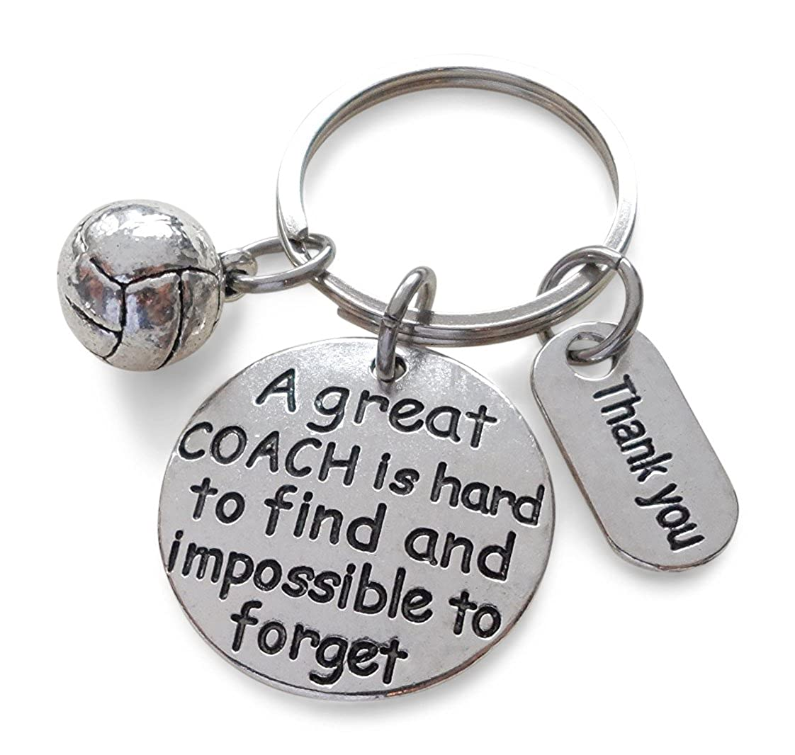Volleyball Coach Gift, Appreciation Gift, A Great Coach is Impossible to Forget 32914000646