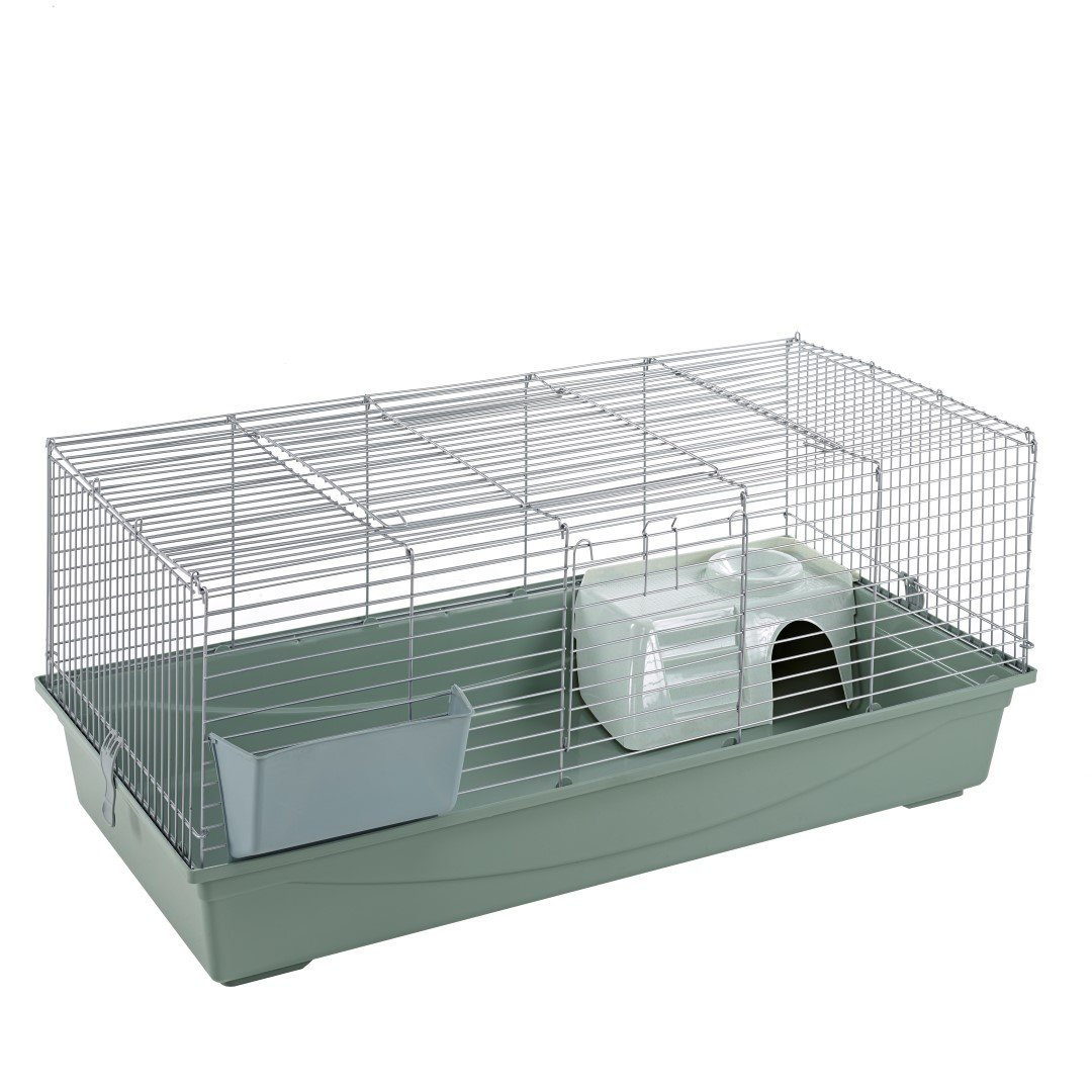 Little Friends Rabbit Cage, 120 m, Silver