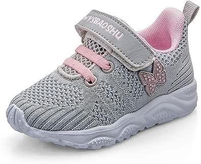 Youecci-Bebé Primeros Pasos Zapatos Niños Niñas Suave Suela Antideslizante Zapatos Niño Pequeño Malla Transpirable Ligero Slip-on Niños Primeros Pasos