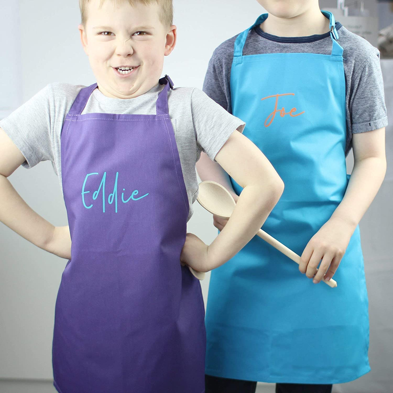 Child Apron Custom Kids or Adult Apron Personalized Apron Girls Apron