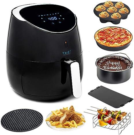 Amazon.com: Yedi Houseware Paquete de freidora de aire de ...