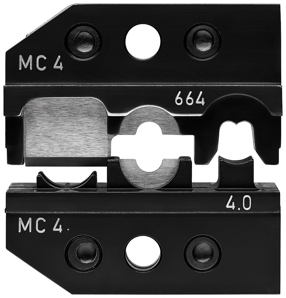 Knipex 97 49 66 4 Crimping Dies for solar cable connectors MC4 4mm