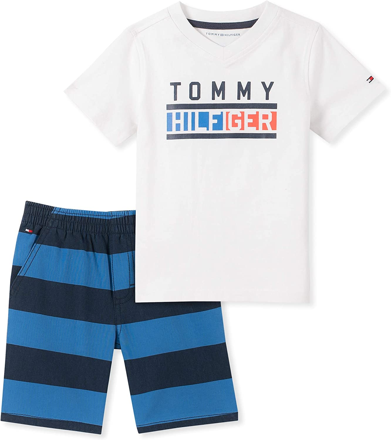 Tommy Hilfiger Baby Boys 2 Pieces Shorts Set