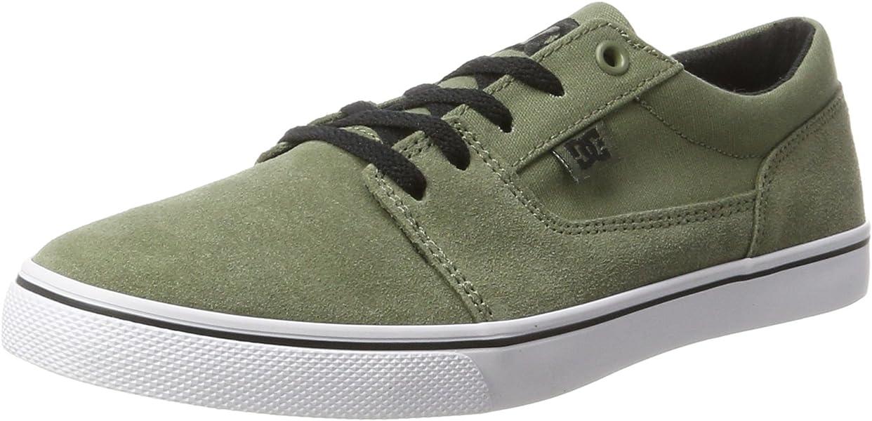 DC Shoes Tonik W, Zapatilla baja para Mujer, Verde (Olive), 36