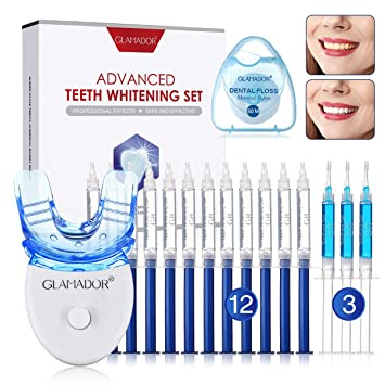 Amazon Com Glamador Teeth Whitening Kit With Led Light
