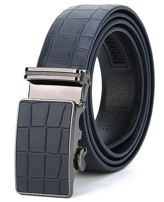 2229dc10388a ITIEZY Cinturón de Cuero para Hombres
