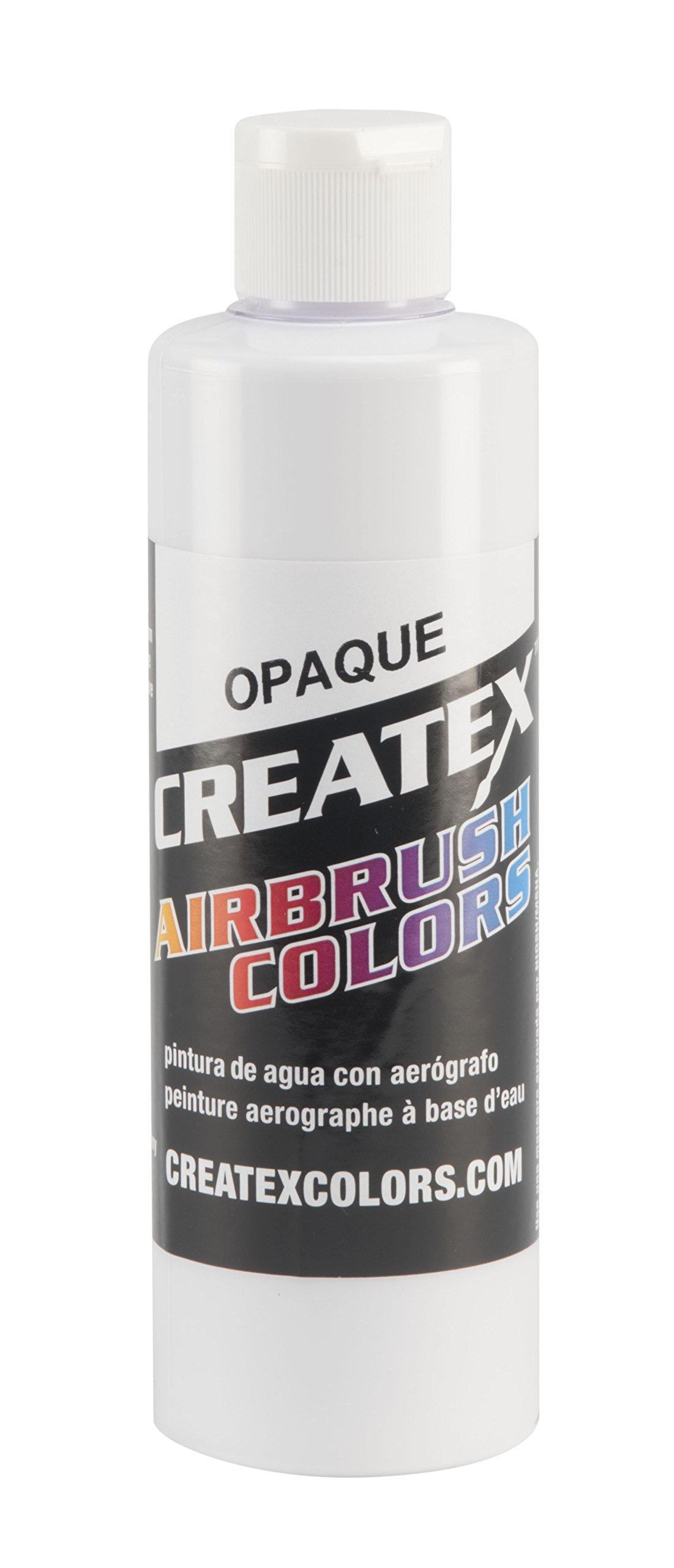 Createx Colors Paint for Airbrush, 8 oz, Opaque White