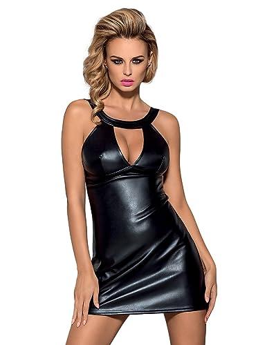Obsessive lusso look mini vestito e perizoma abbinato set