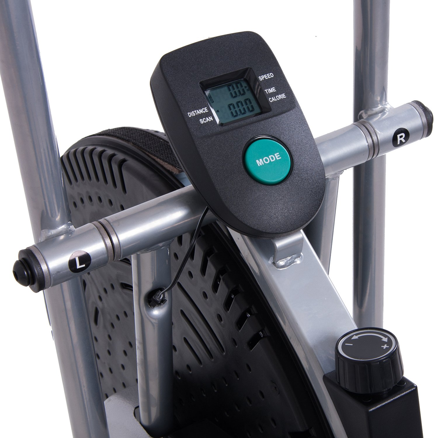 Body Rider Exercise Upright Fan Bike (with UPDATED Softer Seat) Stationary Fitness/Adjustable Seat BRF700 by Body Rider (Image #6)