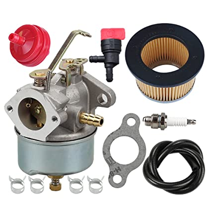 632230 632272 Carburetor with 30727 Air Filter for Tecumseh 5 HP 6 HP  631828 631067 631067A H30 H50 H60 HH60 HH70 Engines 4 Cycle Engine Troy  Bilt