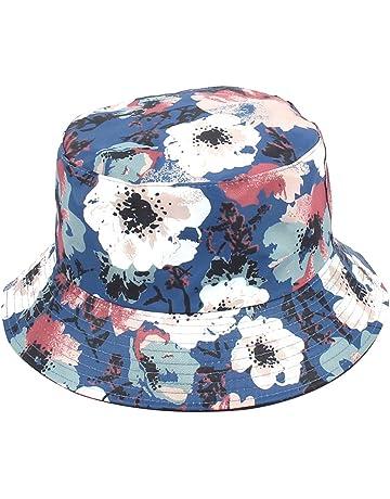 WeiMay Estivo Cappello da Donna con Stampa Floreale in Cotone Bucket Hat  Cappello da Pescatore Berretti e9344073a649