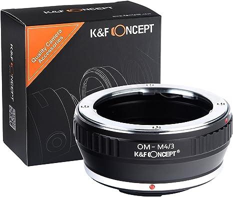 Fikaz Adapter Canon FD Objektiv auf Panasonic Olympus Kamera micro 4//3 FD-M43