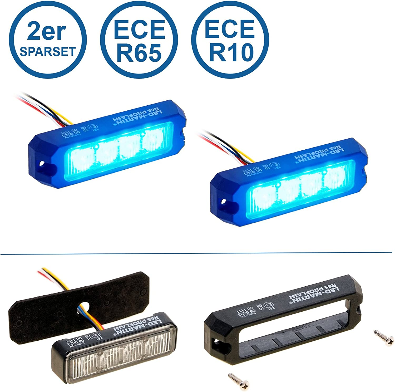 Mixbeek 3er-Set Verkehr Warnleuchten magnetisch Basis Wiederaufladbar Notfallleuchte LED Flash Warnlicht Pannenhilfe Blitzleuchten Licht 9 Leuchtmodi f/ür Auto//LKW//Fahrrad mit Aufbewahrungstasche