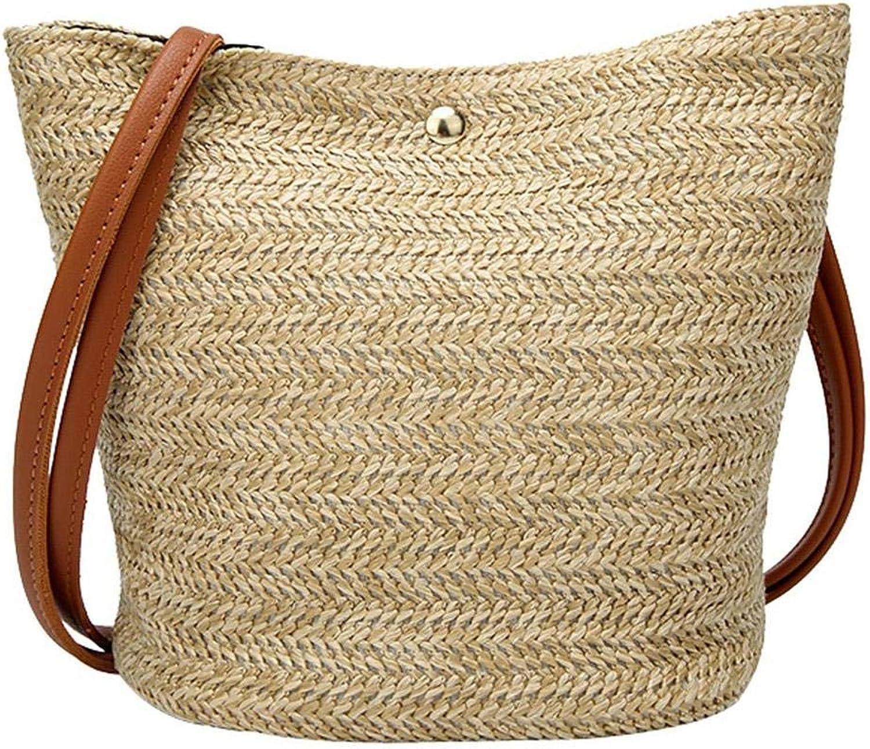 Straw Beach Bags Women...