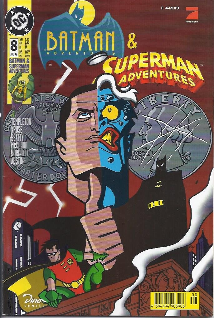 Batman & Superman Adventures Nr. 8 Broschiert – 1998 - Dino Comics B0023TF9DE
