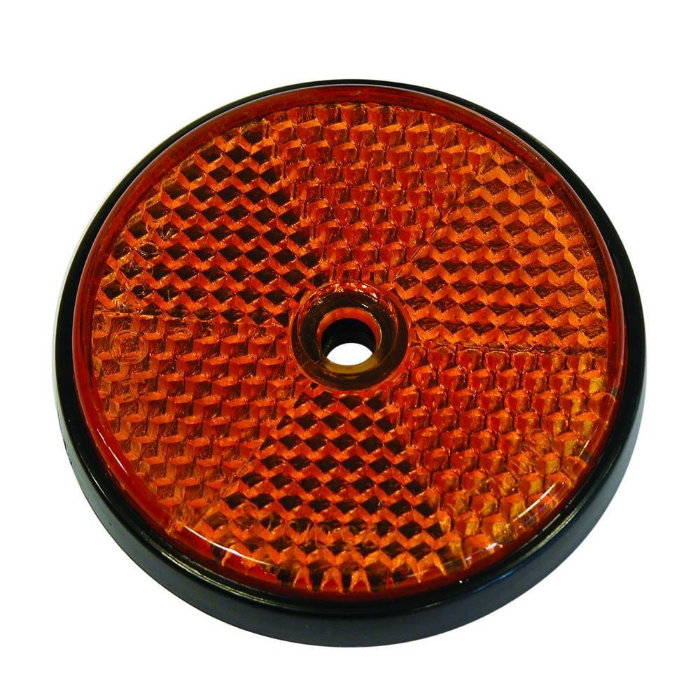 CARPOINT Catadioptrico naranja redondo 70mm 2p
