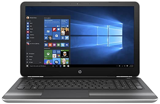 Renewed  HP 15 AU624TX 2017 15.6 inch Laptop  Core i5/4 GB/1TB/Windows 10 Home/Integrated Graphics , Silver Laptops
