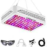 Likesuns 1200W LED Grow Light for Indoor Plants - Full Spectrum Plant Grow Lights for Seedling, Succulents, Herbs and Flower