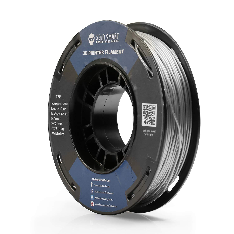 Sainsmart Red Flexible Tpu 3D Printing Filament 0.8 Kg Dimensional Ac 1.75 Mm