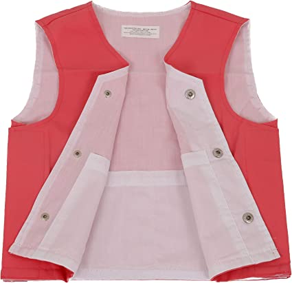 ZooVaa Weighted Vest for Kids Small Children/'s Youth Nylon Sleek Vest w//Removable Weights 16-CCT-201SG