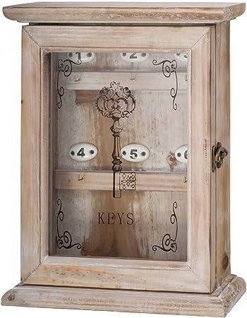 Caja de Llaves en Estilo Antiguo Tablero de Llaves: Amazon.es: Hogar