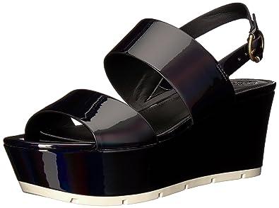 70f91cb4b8 Amazon.com | GUESS Women's Kaelan Wedge Sandal | Platforms & Wedges