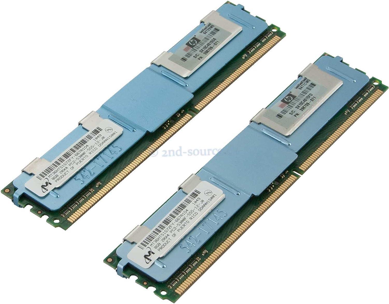 DIMM PC2-5300 2x8GB DDR2 Memory Kit 398709-071 HP 16GB 2x 8GB