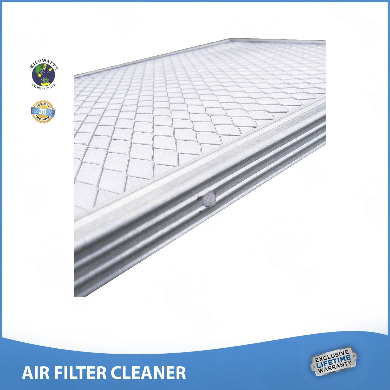 14x25x1 Lifetime Air Filter - Electrostatic Washable Permanent A/C Silver Steel Frame 65% more efficiency by Kilowatts Energy Center (Image #3)