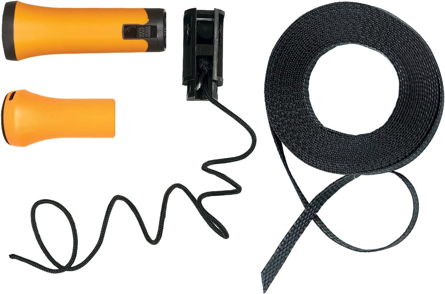 1026297 Black//Orange Fiskars Original replacement handle and rope for Fiskars Bypass telescopic tree pruner UPX82
