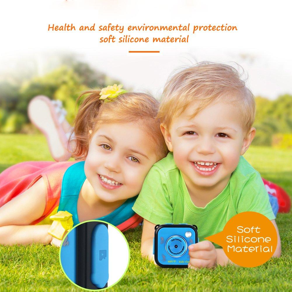 GAKOV GACD WiFi 1080P 2MP Underwater Kids Camera 20m Waterproof Sports Camera for Kids by GAKOV (Image #6)