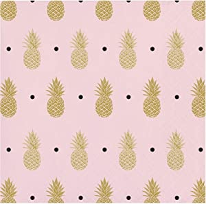 Creative Converting 16 Pineapple Wedding Foil Stamp Party 5