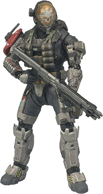 Amazon.com: McFarlane Toys Halo Reach Series 1 Emile Figura ...
