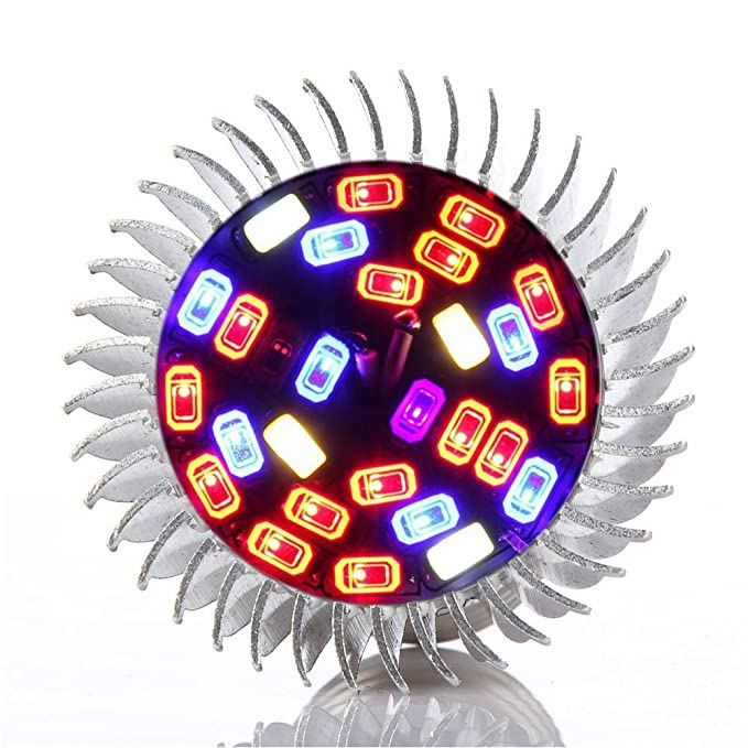 2 opinioni per BeiLan 28W 28 LED E27 coltiva la lampadina piena dello spettro che cresce la