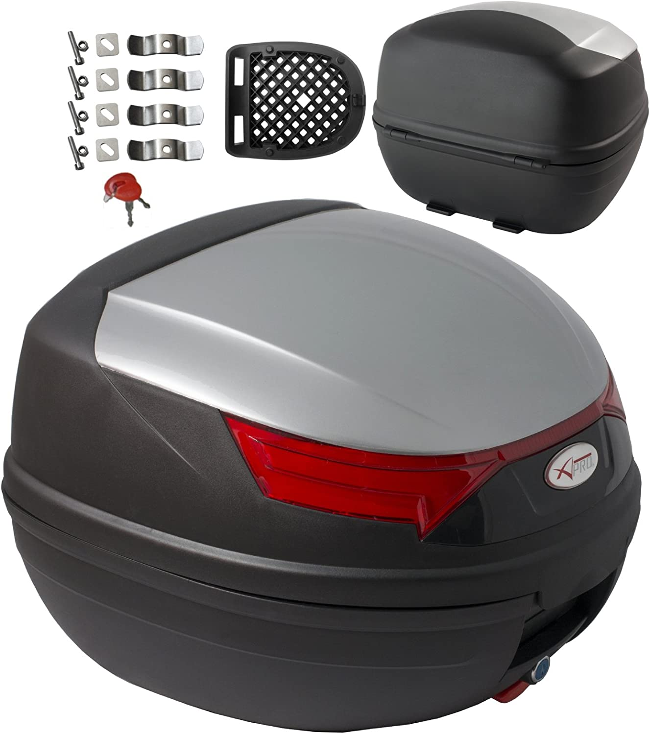A/ /Pro top case motorcycle brake lights top box case motorcycle scooter quad 32L