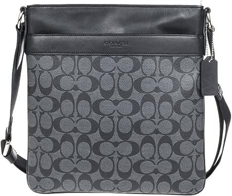 Coach men's PVC Handbag Crossbody F54781
