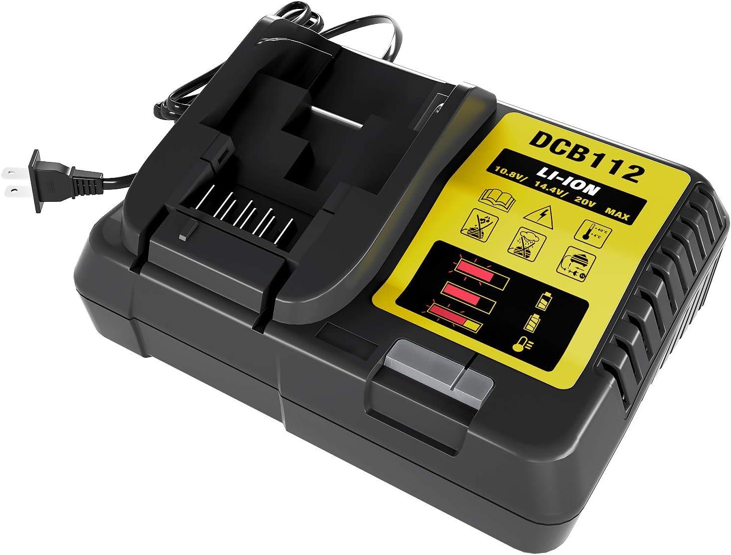 rapide Chargeur de dcb100 10,8 v Li-Ion Original DEWALT 40 min