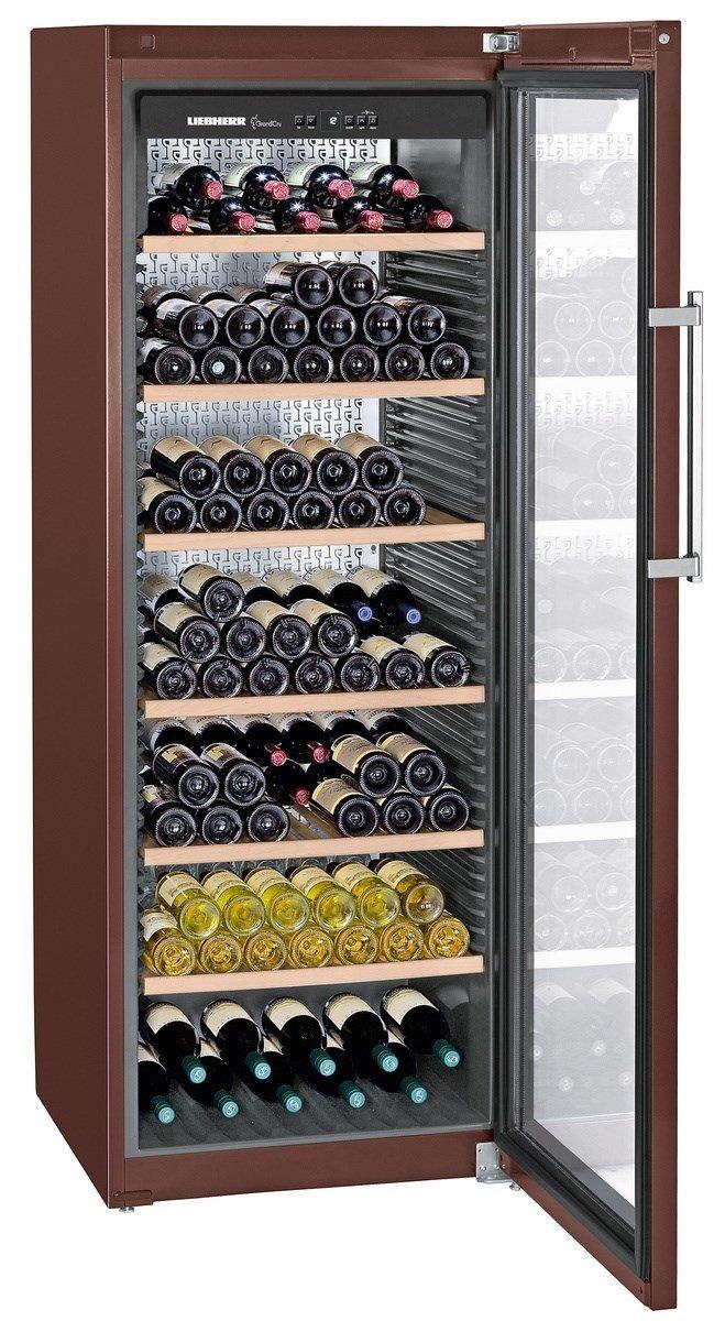 Liebherr WKt 5552 GrandCru - wine coolers (freestanding, 5 - 20 ° C, A+, Stainless steel, Buttons, Steel) 5 - 20 °C WKT5552-20 001