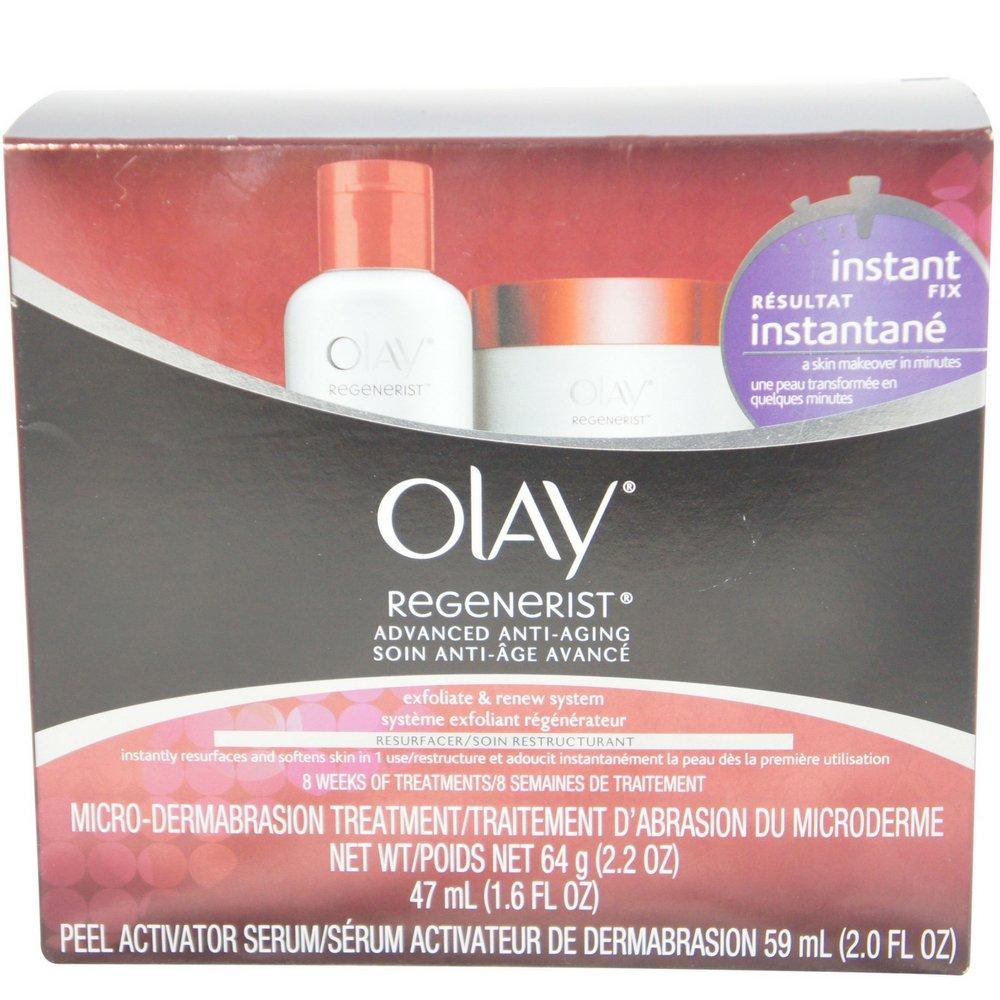 OLAY Regenerist Microdermabrasion & Peel System 1 Each (Pack of 2)