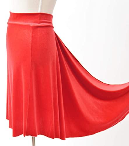 Falda de terciopelo roja de Tango con cola de pescado | Ropa de ...