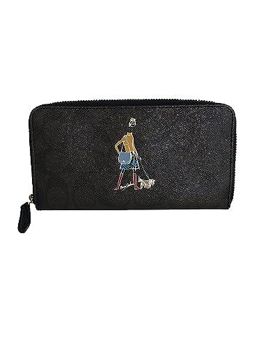 0318e4b3 Amazon.com: Coach Bonnie Cashin Accordion Zip-Around Wallet (Brown ...