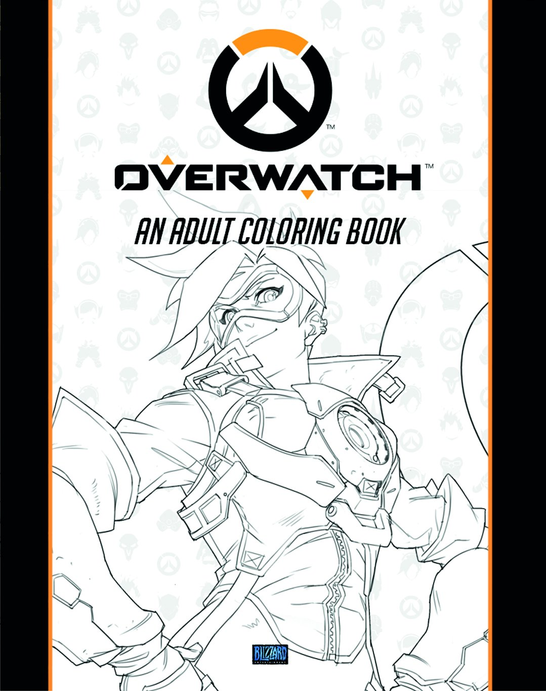 Com Overwatch Coloring Book 9781945683060 Blizzard