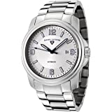 Swiss Legend Men's 10012A-23 Automatic Stainless Steel Silver Dial Watch