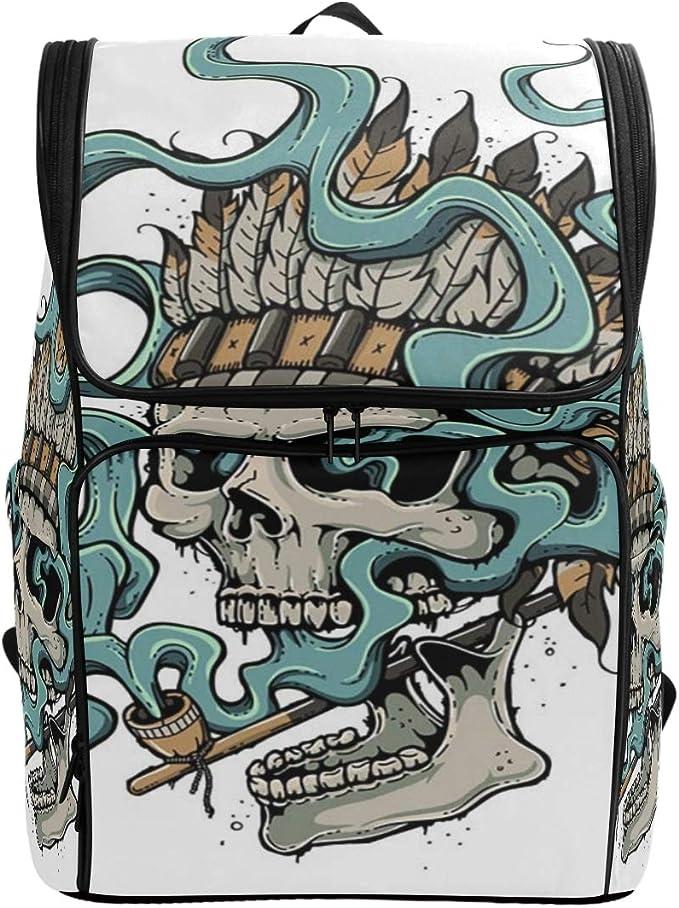 Acheter sac à dos college tete de mort online 9