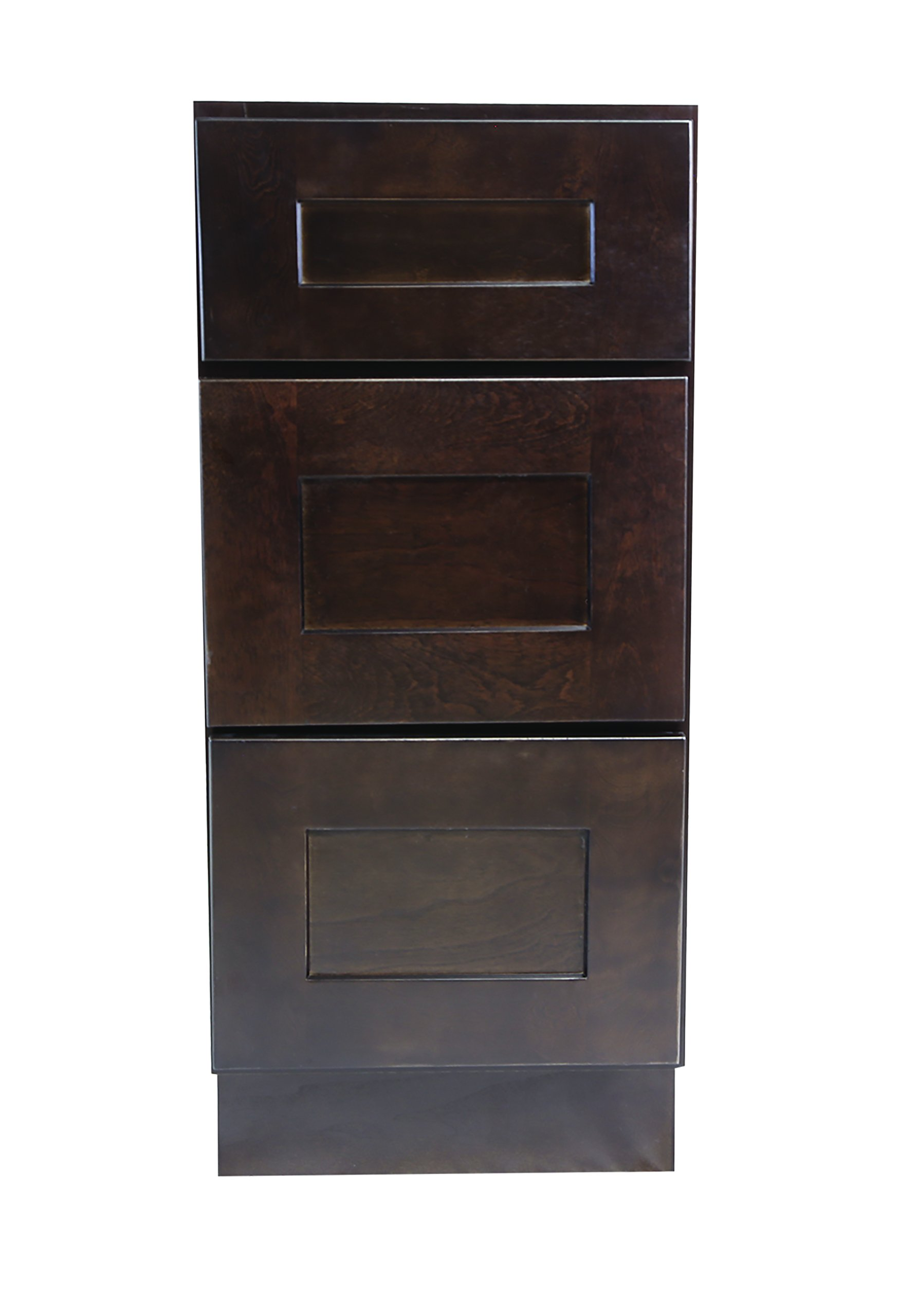 Design House 562041 Brookings 15-Inch Drawer Base Cabinet, Espresso Shaker by Design House