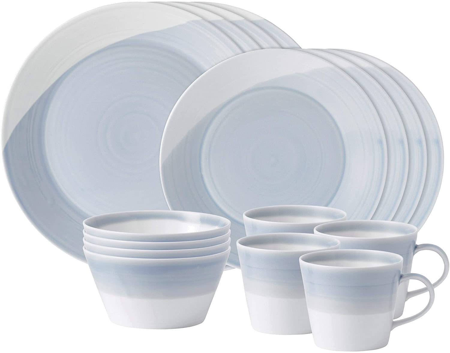 Royal Doulton 1815 Blue Collection Dinner 16-Piece Dinnerware Set