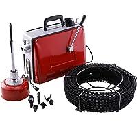 Z ZELUS 400 W buisreinigingsmachine buisreiniger buisreiniger 400 omw/min buisreiniger reiniging gereedschap