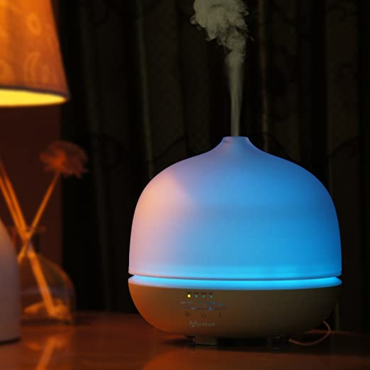 Apalus 500ML Glass Ultrasonic Aromatherapy Essential Oil Diffuser