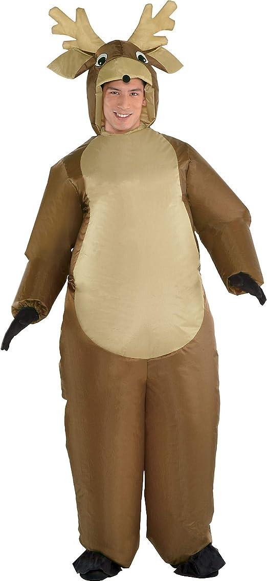 Amazon.com: Disfraz de reno inflable – tamaño estándar ...